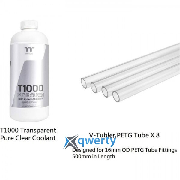 THERMALTAKE Pacific CL360 Max D5 Hard Tube Water Cooling Kit (CL-W259-CU00SW-A)