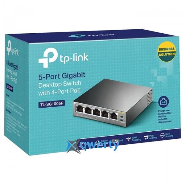 TP-LINK (TL-SG1005P)