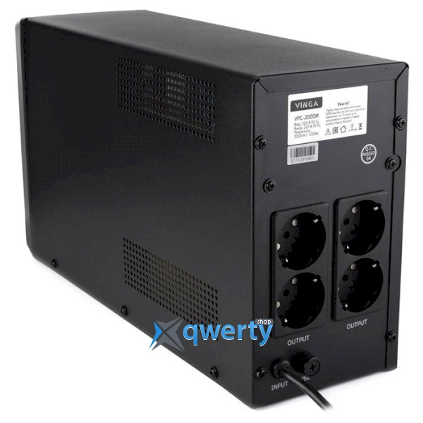 VINGA LCD 1500VA Metal (VPC-1500M)