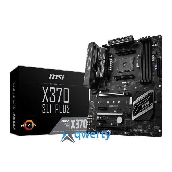 MSI X370 SLI PLUS (AM4 AMD X370 PCI-Ex 16)